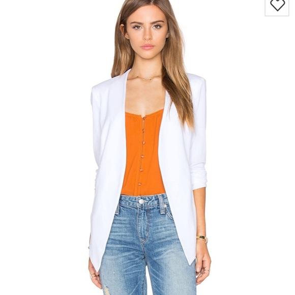 6d2465d60e0 BCBGeneration Jackets & Coats | Optic White Tuxedo Jacket Small ...